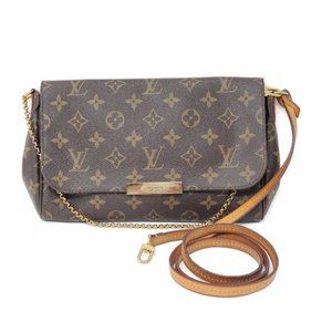 Auth Louis Vuitton Favorite MM Monogram Crossbody
